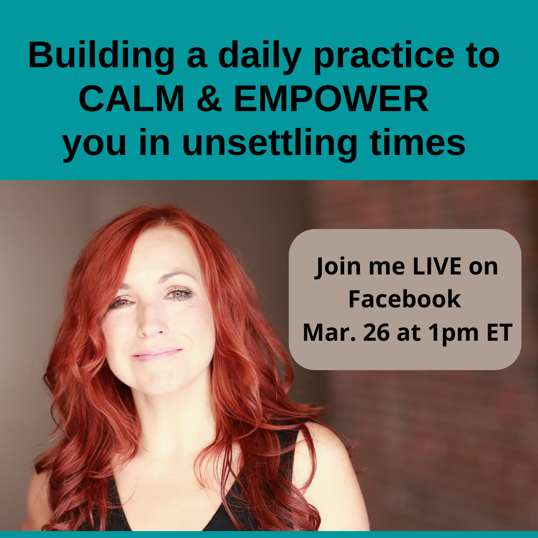 empower during unsettling times