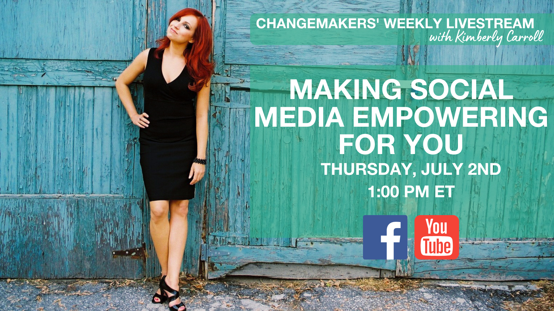 making social media empowering for you