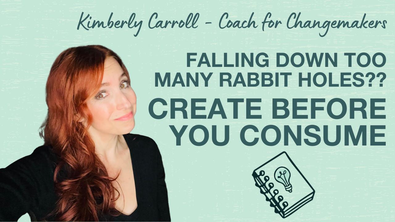 create before you consume